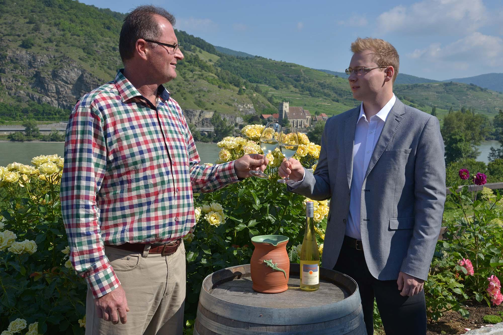 Georg und Gottfried Pöchlinger